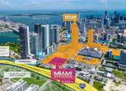 El último terreno delMiami Worldcenter está a la venta