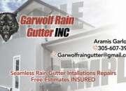 Rain Gutters canales de lluvia