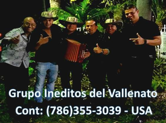 Agrupacion vallenata / 786 355 3039