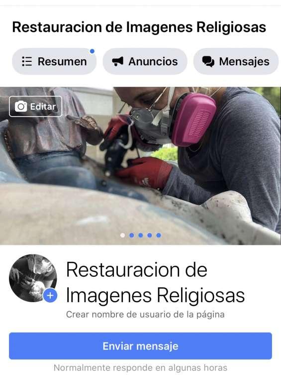 Restauración de imágenes religiosas