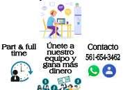 TRABAJO DE SERVICIOS FINANCIEROS DESDE CASA
