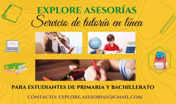 Servicio de tutorías en línea